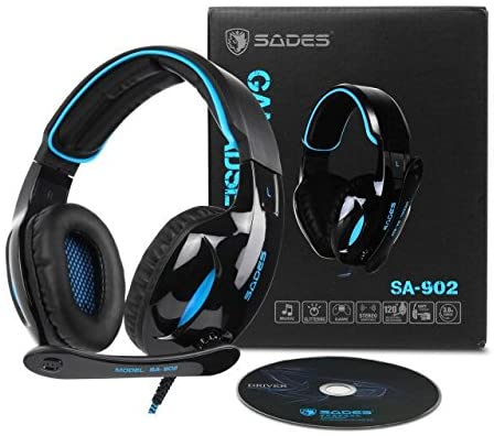 Sades USB 7.1 Surround Sound PC Gaming Headset Review
