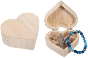 Curtzy Trio Of Wooden Heart Shaped Boxes Review