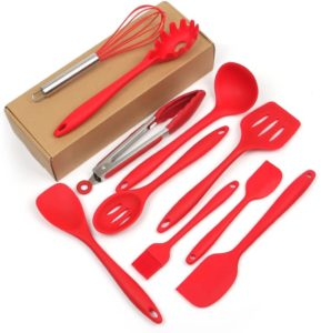 Casa Bonita 10 Piece Silicone Cooking