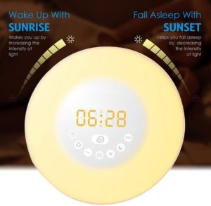 GLIME Wake Up Light Alarm Clock Review