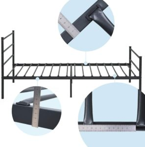 Aingoo Single Metal Bed Frame