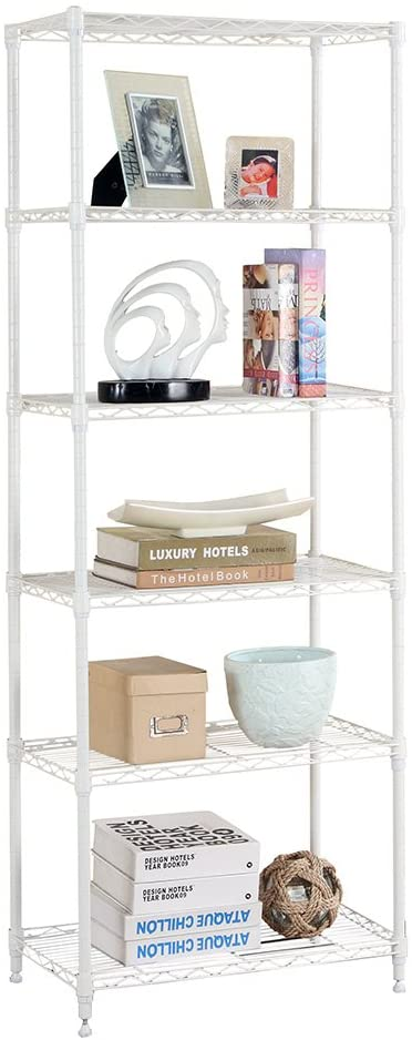 LANGRIA 6 Tier Modern Storage Organization Rack