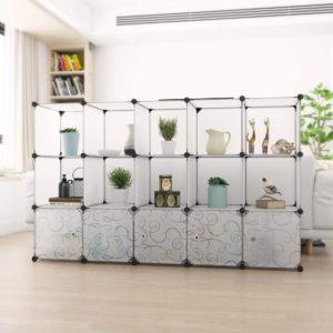 Langria Interlocking Plastic Wardrobe Cabinet Review