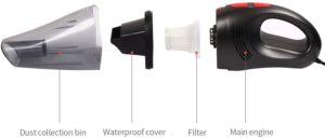 Vehemo Portable Car Vacuum Cleaner Review