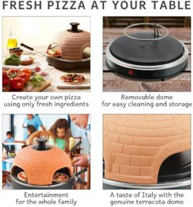 Global Gourmet Electric Tabletop Pizza