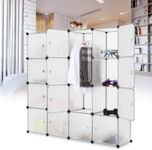 Langria Interlocking Plastic Wardrobe Review