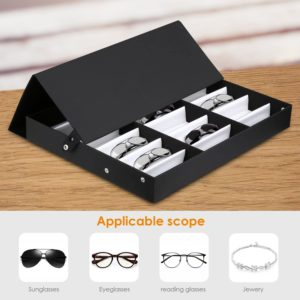 Amzdeal 18 Piece Glasses Display Storage Case Review