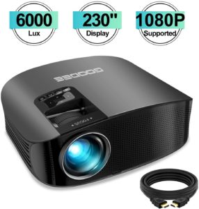 GooDee Home Cinema Projector Review