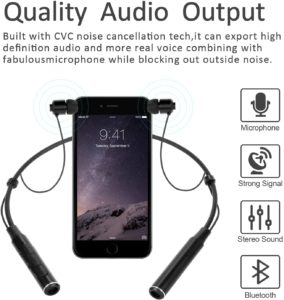 AUVI Neckband Bluetooth Earphones Review