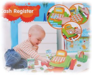 Beby Kid's Role Play Cash