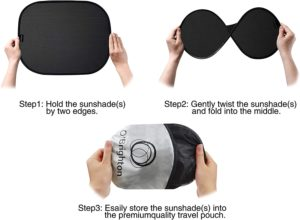 Topop Car Sun Shade Three Pack Review