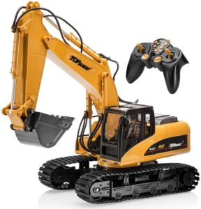 Top Race 15 Channel Full Functional Professional RC Excavator Review