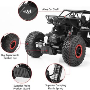 Crossrace Remote Controlled Rock Crawler