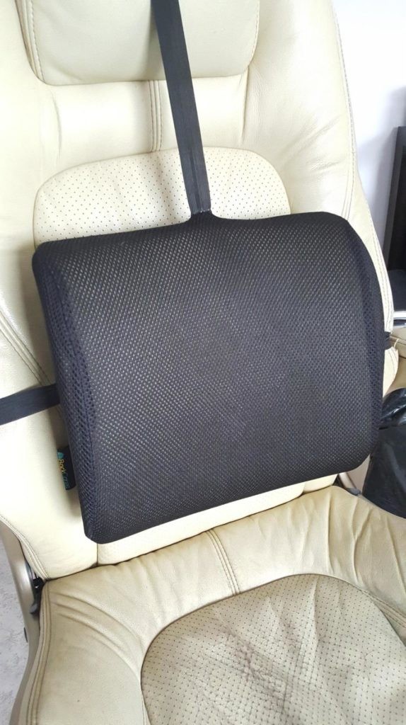 BackCares Memory Foam Back Cushion Review