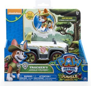 Paw Patrol Jungle Rescue Tracker And Jungle Cruiser Review