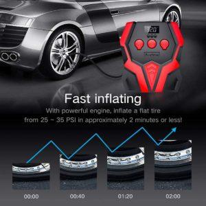 Audew Digital Tire
