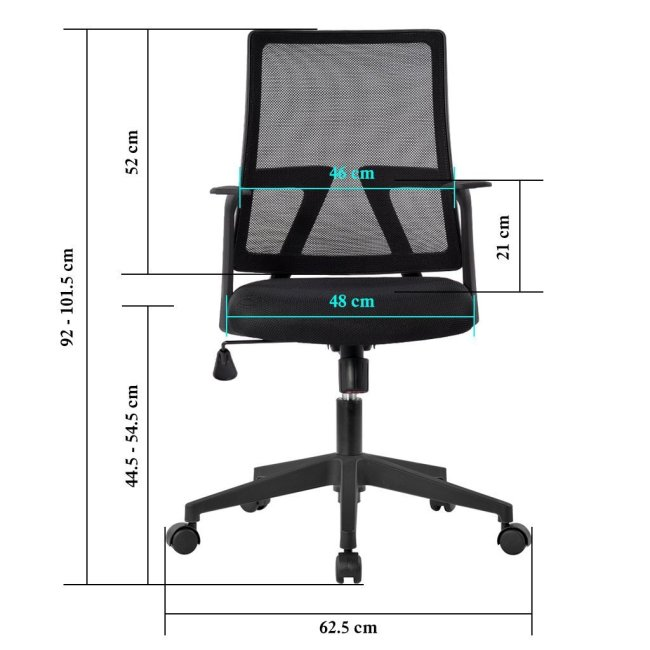 Langria Medium Back Mesh Office Chair Review