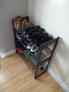 Langria 4 Tier Mesh Shoe Rack Review