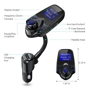 Oria Car Bluetooth FM